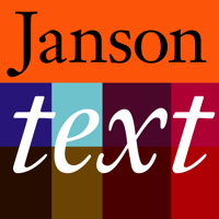 Janson Text Poster