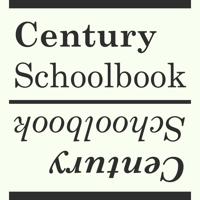 Monotype Century Schoolbook Poster