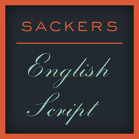 Sackers English Script