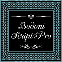 PF Bodoni Script Pro