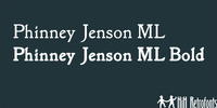 Phinney Jenson ML by HiH Retrofonts