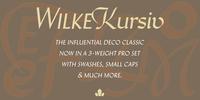 Wilke Kursiv™ Download