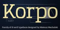 Korpo Serif Download