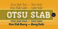 Otsu Slab™ Font Download