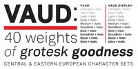 Vaud Font Download