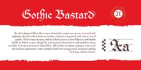 Cal Gothic Bastard Font Download