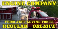 Engine Company JNL Font Download