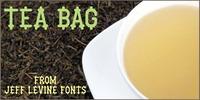 Tea Bag JNL Font Download