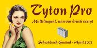 Tyton Pro™ Font Download
