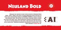 Cal Neuland Bold Font Download