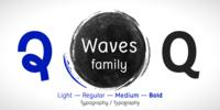 Waves™ Font Download