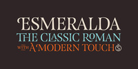 Esmeralda Pro Font Download