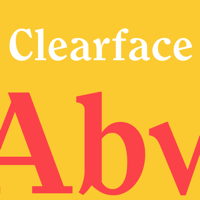 Monotype Clearface