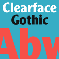 Monotype Clearface Gothic