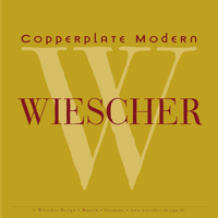 Copperplate Modern Brochure by Gert Wiescher