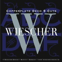 Copperplate Deco Brochure by Gert Wiescher