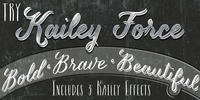 Kailey Force Font Download