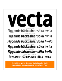 Vecta Brochure by Robbie de Villiers