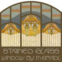 Stained Glass Window by Max Gradl