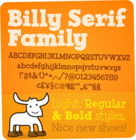 Billy Serif by David Buck