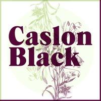 Caslon Black