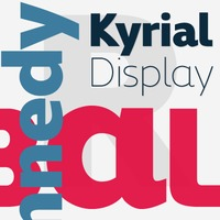 Kyrial Display Pro by Mostardesign