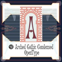Arched Gothic Condensed SG by Jim Spiece