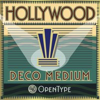 Hollywood Deco by Jim Spiece