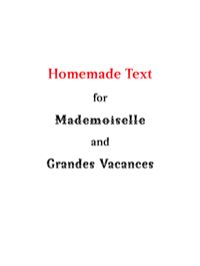 Homemade Text by Flat-it