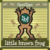 Little Brown Frog by Jim Spiece