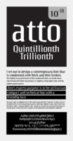 Atto Sans by Wilton