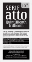 Atto Serif by Wilton