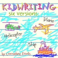 Kidwriting Sample 1 by Manuel Corradine