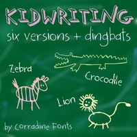 Kidwriting Sample 2 by Manuel Corradine