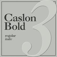 Caslon Bold