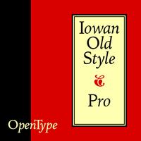 Iowan Old Style BT Poster