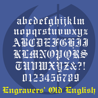 Engravers' Old English BT