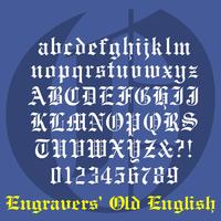 Engravers' Old English