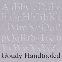 Goudy Handtooled Poster