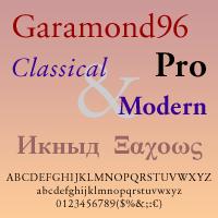 Garamond 96 DT