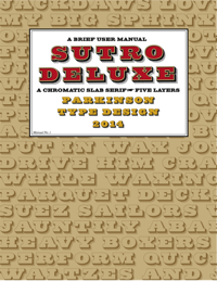 Sutro Deluxe User Manual by Parkinson
