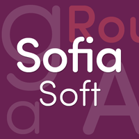 Sofia Soft-The rounded style of Sofia Pro by Mostardesign Studio - Olivier Gourvat
