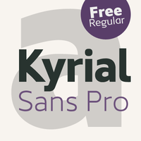 Kyrial Sans Pro - A grotesque font family by Mostardesign Studio - Olivier Gourvat