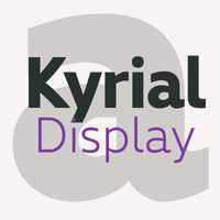 Kyrial Display Pro Opentype font family by Mostardesign Studio - Olivier Gourvat