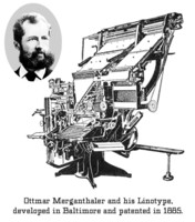 Linotype Machine by HiH