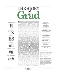 Grad Specimen by Mark Simonson