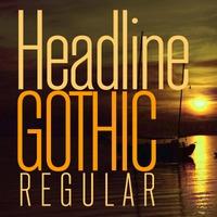 Headline Gothic Poster