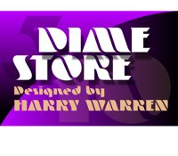 Dime Store banner by Bob Alonso