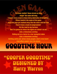 Cooper Goodtime poster by Bob Alonso