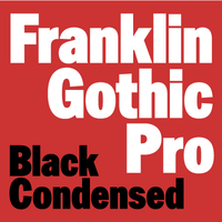 Franklin Gothic Pro Poster